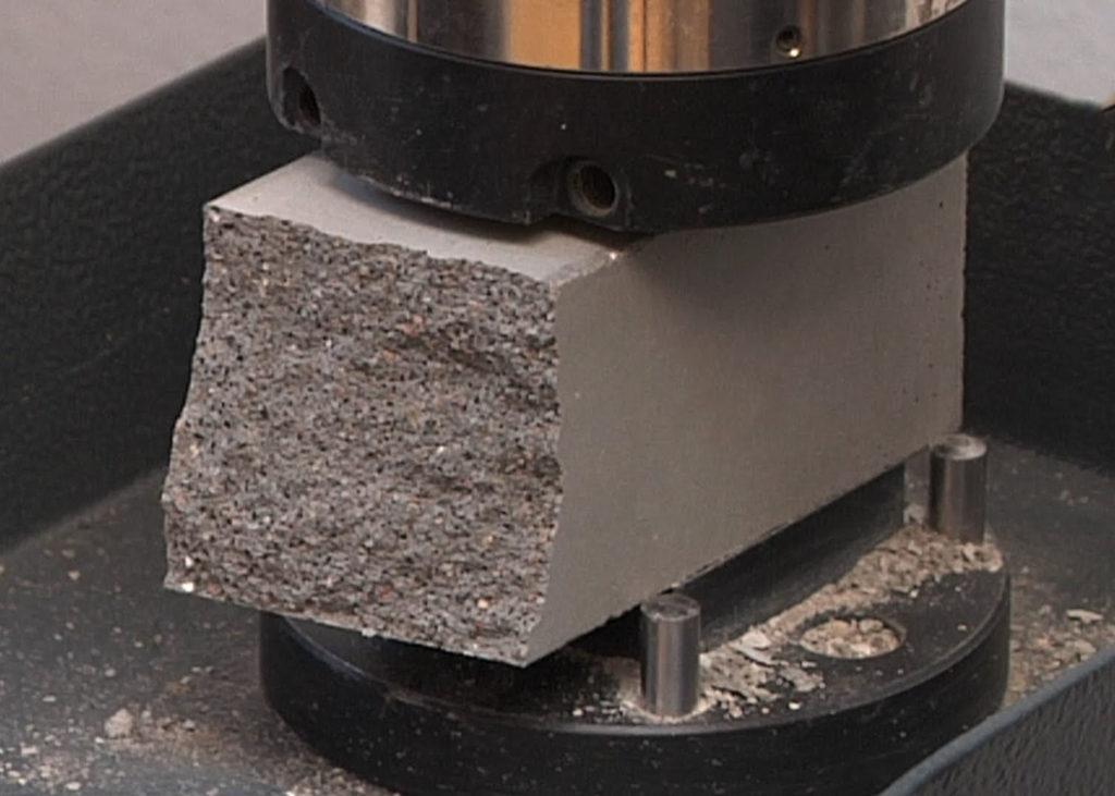 Огнеупорного бетона испытания