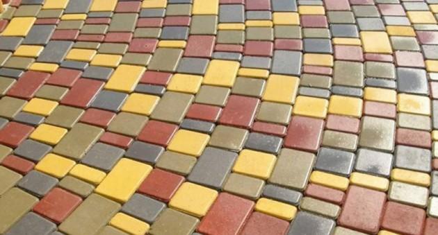 плитка цветной бетон